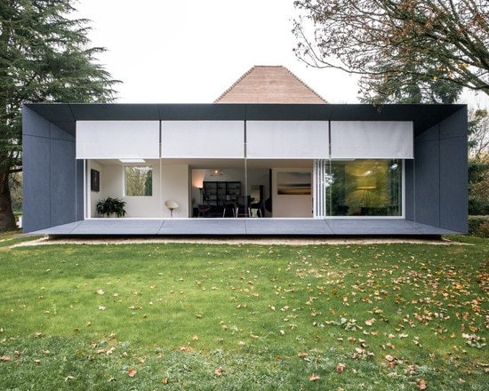 Extension maison contemporaine