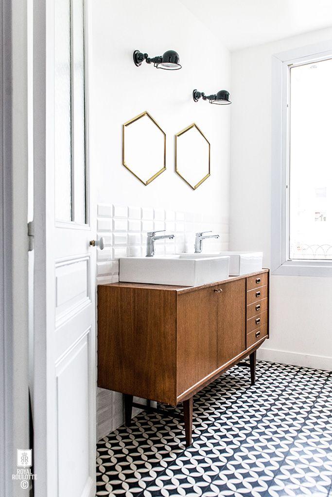 salle-de-bain-retro-meuble-scandinave