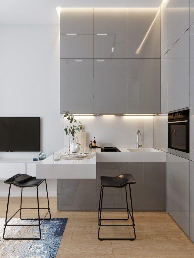 cuisine minimaliste moderne 8