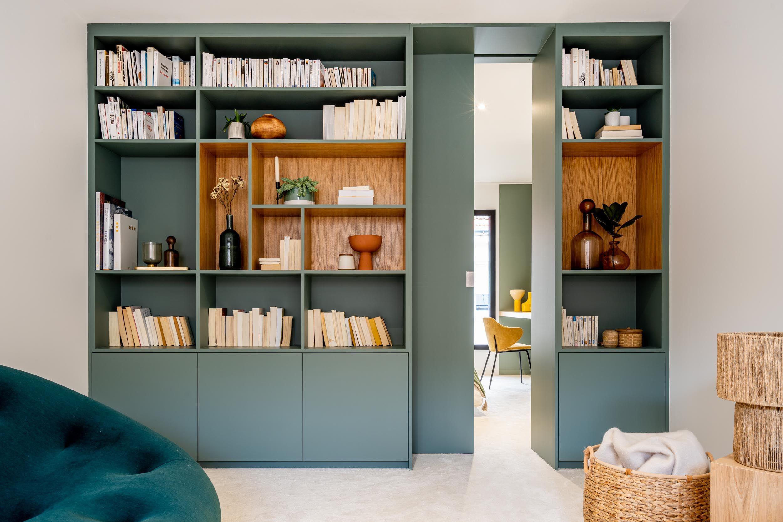 meuble bibliothèque pour séparer des pièces 11
