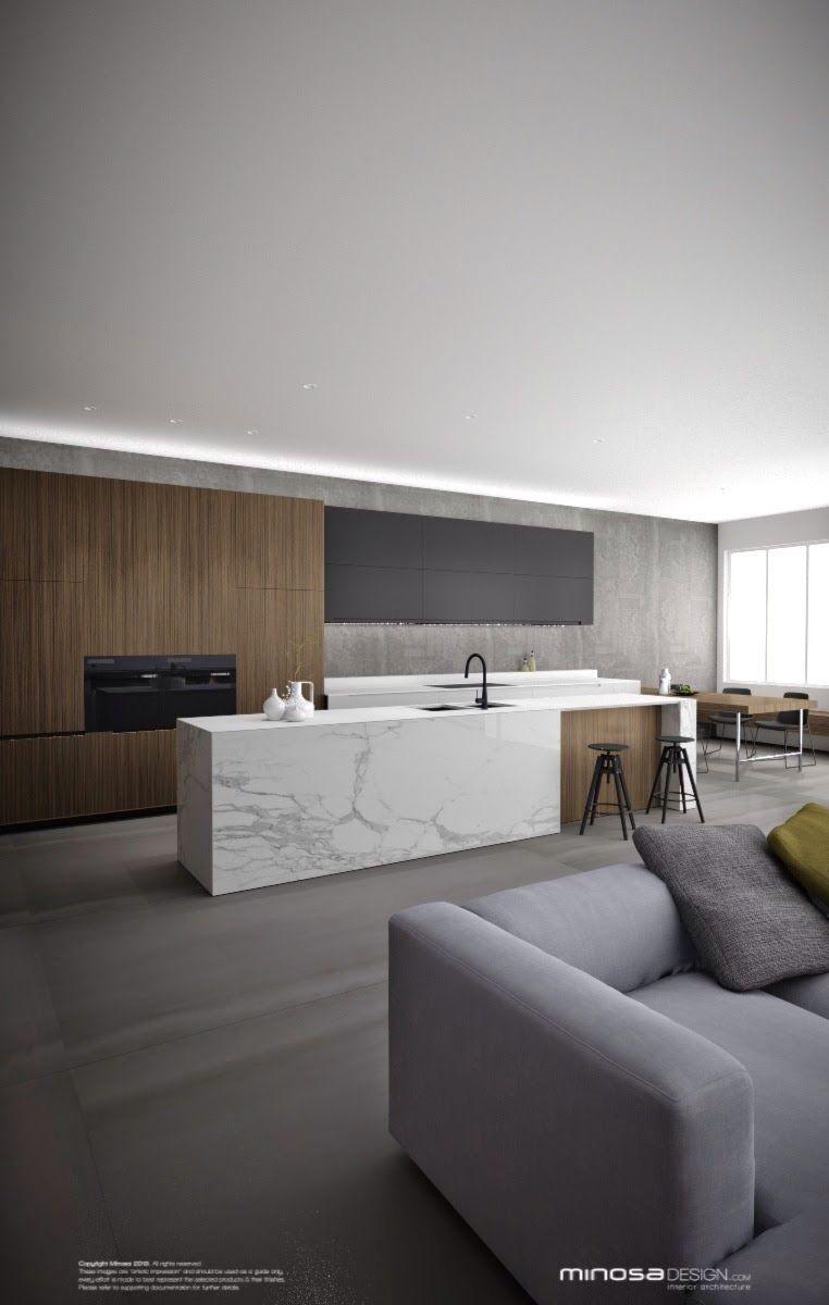 cuisine minimaliste moderne 10