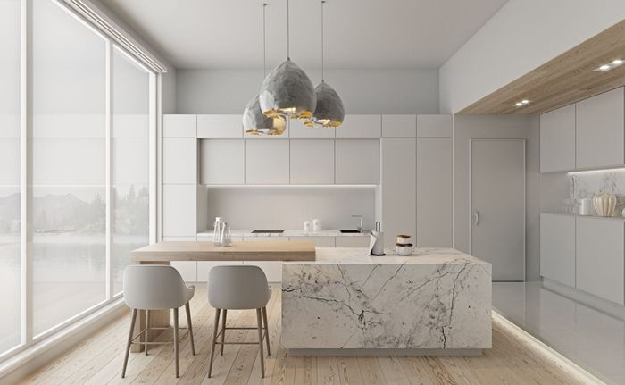 cuisine minimaliste moderne 9