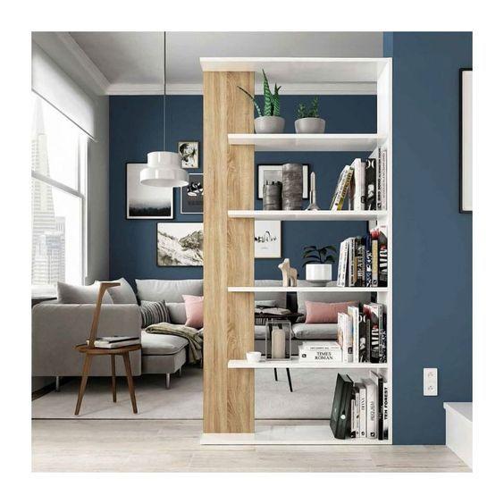 meuble bibliothèque pour séparer des pièces 3